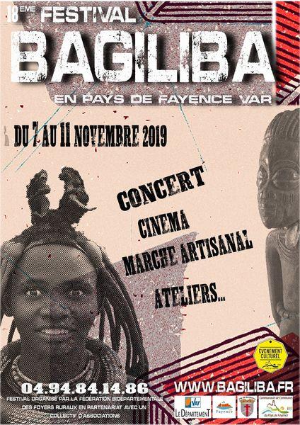 18ÈME FESTIVAL AFRICAIN BAGILIBA - FAYENCE