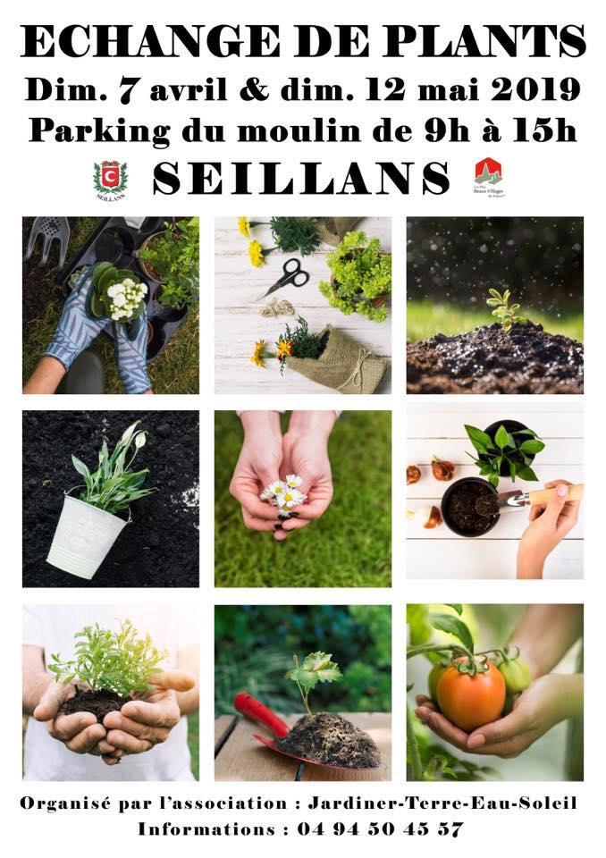 ECHANGE DE PLANTS