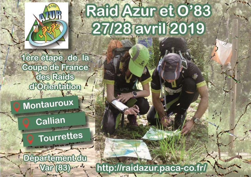 23ÈME RAID AZUR DE COURSE D'ORIENTATION